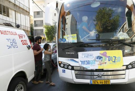 """Israel's ultra-Orthodox Jewish parties have accused the affluent Tel Aviv suburb of Ramat Gan and its mayor of crossing a red line by allowing the """"sababus"""" to run on the Sabbath, the weekly Jewish day of rest when public transport is usually banned"""