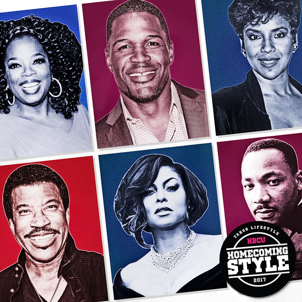<p>Did you know these prominent figures and celebs attended HBCUs? (Photos: Getty Images; Art by Quinn Lemmers for Yahoo Lifestyle) </p>