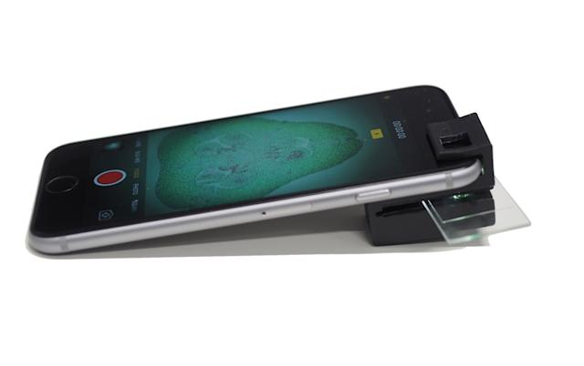Now your smartphone camera can double up as a microscope as well