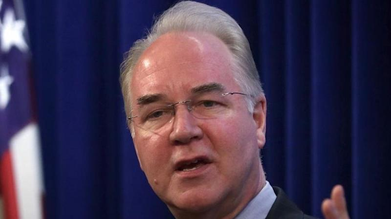 Tom Price Is Latest In Trump's Cabinet To Take Heat For Exorbitant Travel Costs