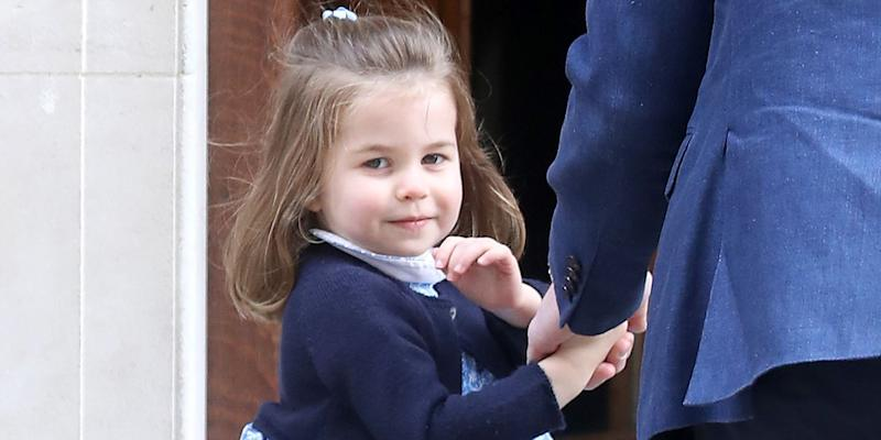 Princess Charlotte Has to Sit at the Kids' Table