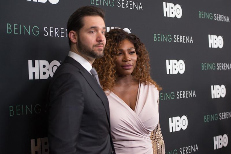 Tennis star Serena Williams is celebrating her two-year wedding anniversary to Alexis Ohanian. (Photo: Mike Pont/WireImage)