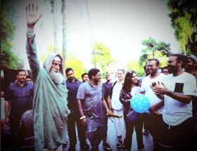 Amitabh Bachchan wraps up the shooting of 'Gulabo Sitabo'
