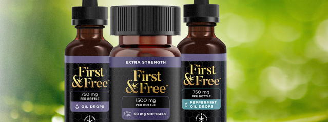 The line will be available in the 31 U.S. states where CBD products are legal for sale, according to the First & Free website. (First & Free website)