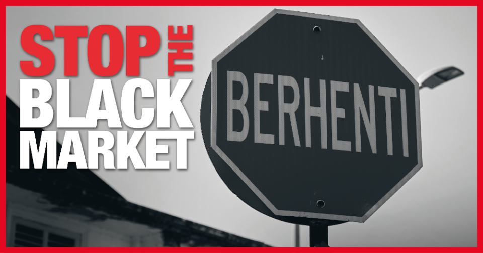 Malaysians can now take part in a nationwide survey at www.stoptheblackmarket.com.my and share their views at https://www.facebook.com/stoptheblackmarket. — Picture courtesy of BAT Malaysia