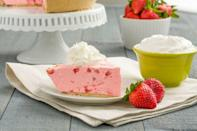 """<p>Jell-o meets pie meets milkshakes. And it's all about the strawberries.</p><p><em>Get the recipe from <a href=""""https://www.delish.com/cooking/recipe-ideas/recipes/a44831/strawberry-milkshake-pie-cool-whip-desserts/"""" rel=""""nofollow noopener"""" target=""""_blank"""" data-ylk=""""slk:Delish"""" class=""""link rapid-noclick-resp"""">Delish</a>.</em></p>"""