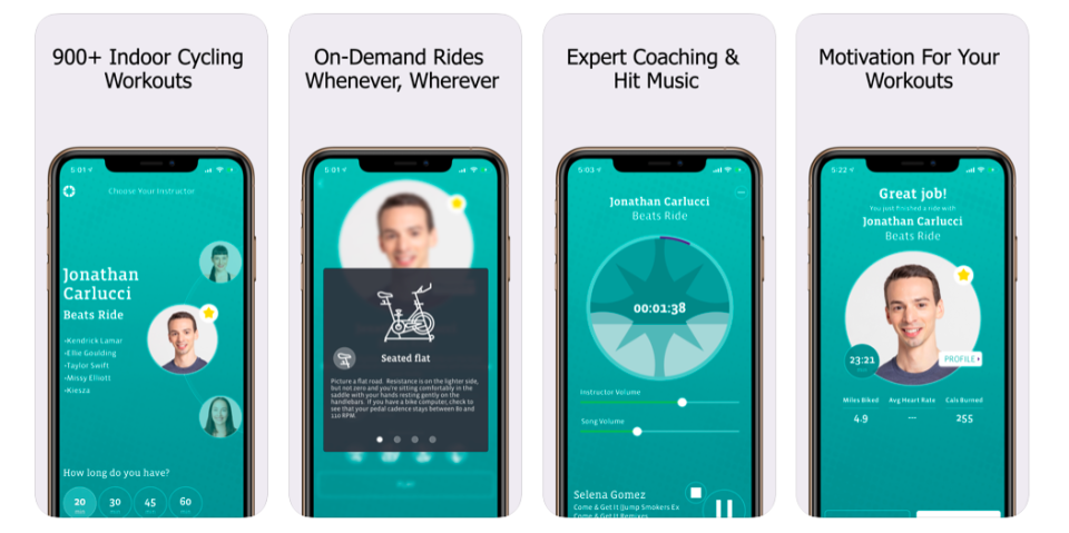 CycleCast Indoor Cycling App
