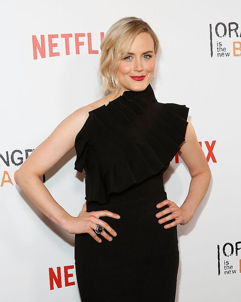 "Taylor Schilling, who plays Piper Chapman, attends the premiere of ""Orange is the New Black"" on June 16, 2016, at SVA Theater in New York City. (Photo: Taylor Hill/FilmMagic)"