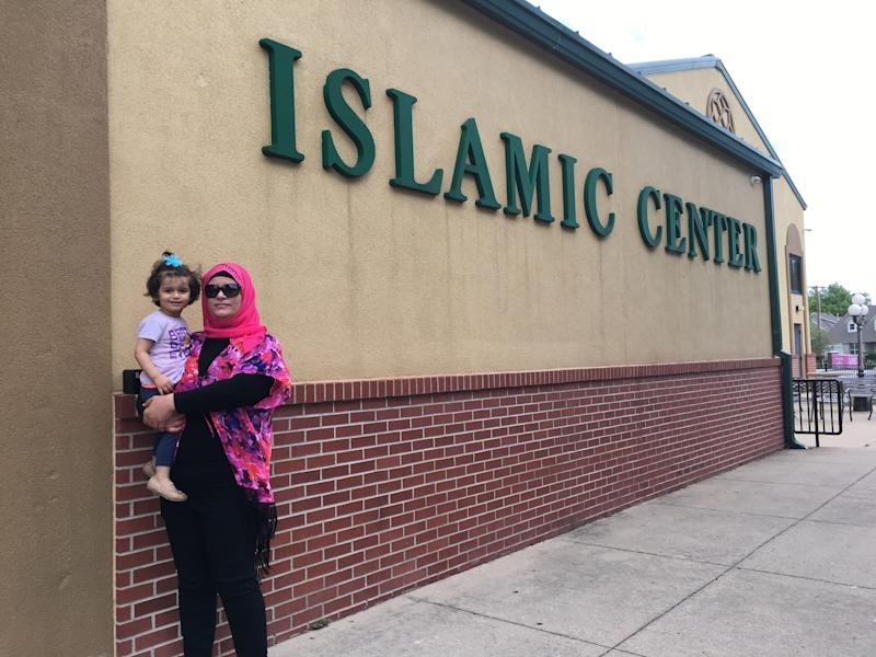 Suha Elqutt with her daughter (Courtesy of Suha Elqutt)