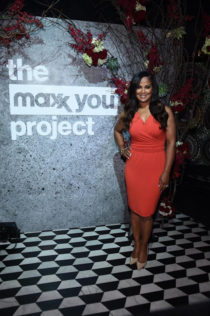 """Laila Ali partnered with T.J.Maxx to launch """"The Maxx You Project,"""" encouraging women to let their individuality shine, in New York City."""