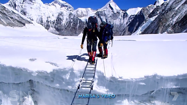 Footage from Maria's camera during her last expedition