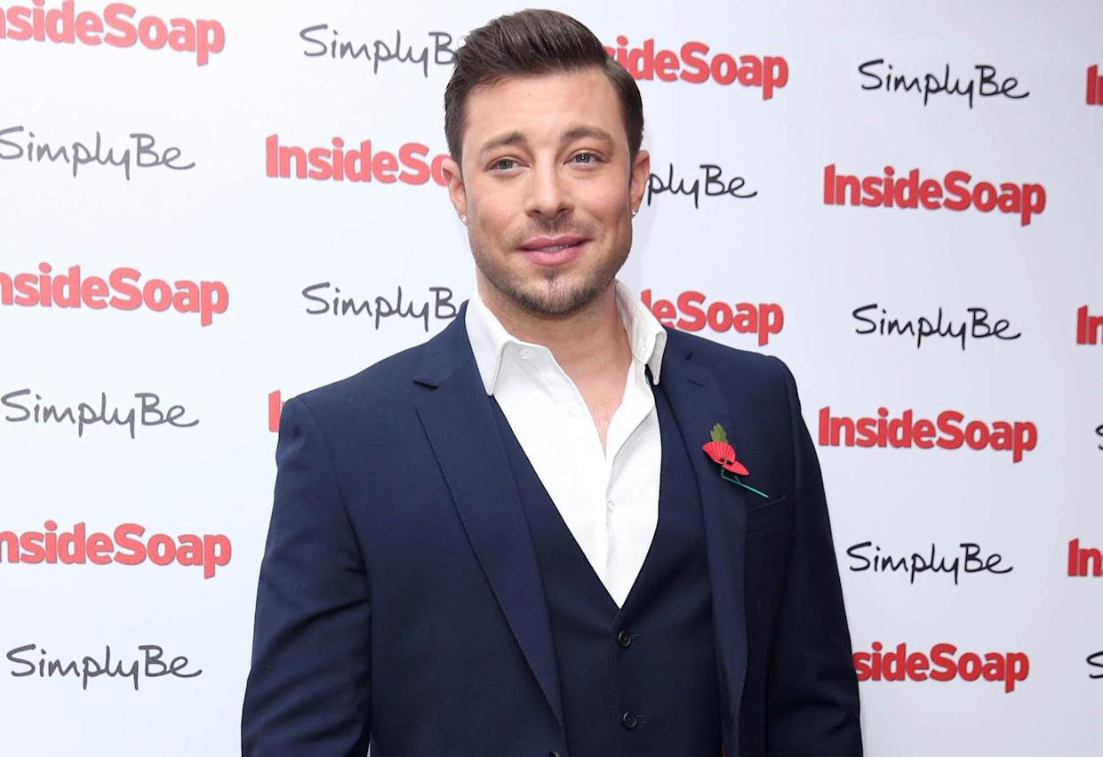 Duncan James denies any involvement in the incident. (PA)