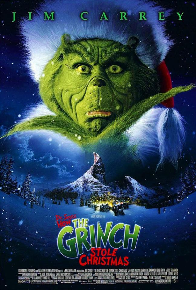 """<p>Not a single Who in Whoville, especially Cindy Lou Who, could ever forget the Oscar-winning 2000 version of Dr. Seuss's iconic book <em>How the Grinch Stole Christmas</em>-specifically how the ever-hilarious Jim Carrey brought the green meanie-turned-softie to life. This one's a classic for kids, for sure.</p><p><a rel=""""nofollow"""" href=""""https://www.netflix.com/title/60000901"""">WATCH NOW</a></p>"""