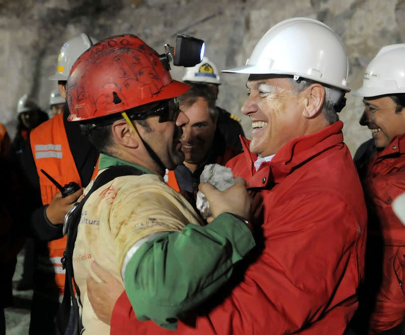 Chilean miner trapped underground a decade ago recalls the day he saw the light