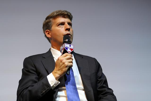 Yankees owner Hal Steinbrenner signaled that his team is willing to spend again. (Photo by Alex Trautwig/MLB Photos)