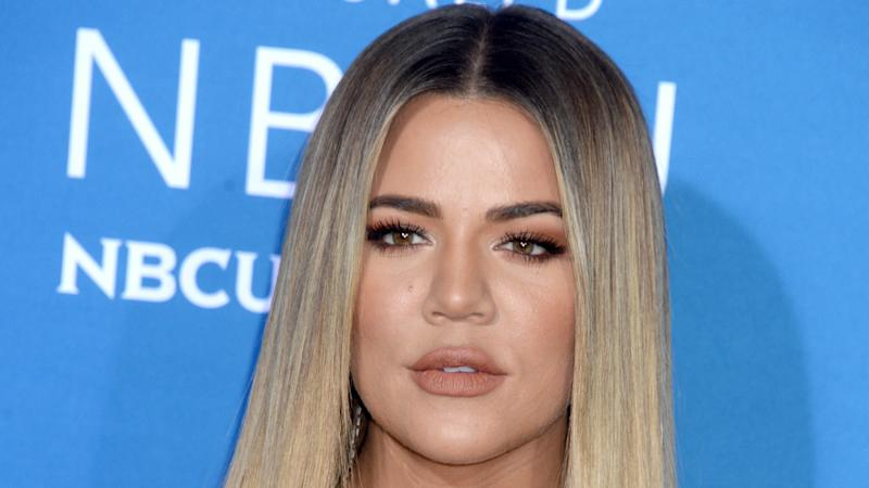 Khloé Kardashian: Baby-Party ganz in Rosa
