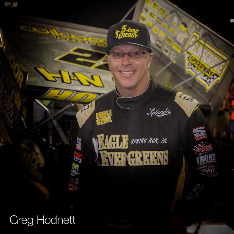 Sprint vehicle  racer Greg Hodnett dies in racing accident