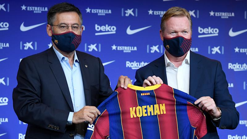 'Even if Koeman wins the treble he won't be my coach' - Barcelona presidential candidate Font makes Xavi preference clear