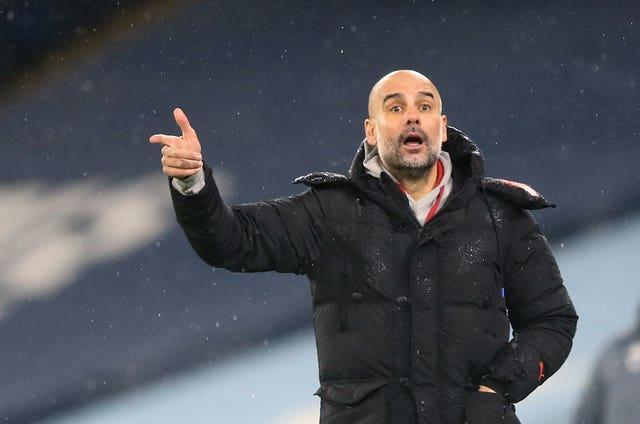 Guardiola is preparing his side to face Sheffield United this weekend