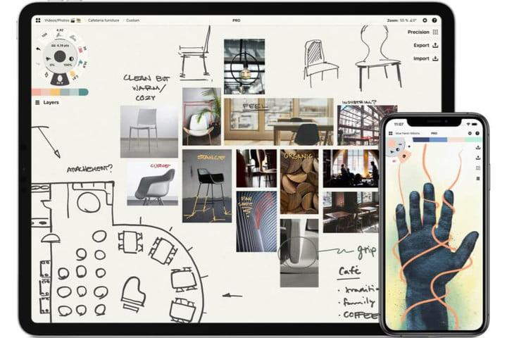 best ipad pro drawing apps concepts 5 4 hero22