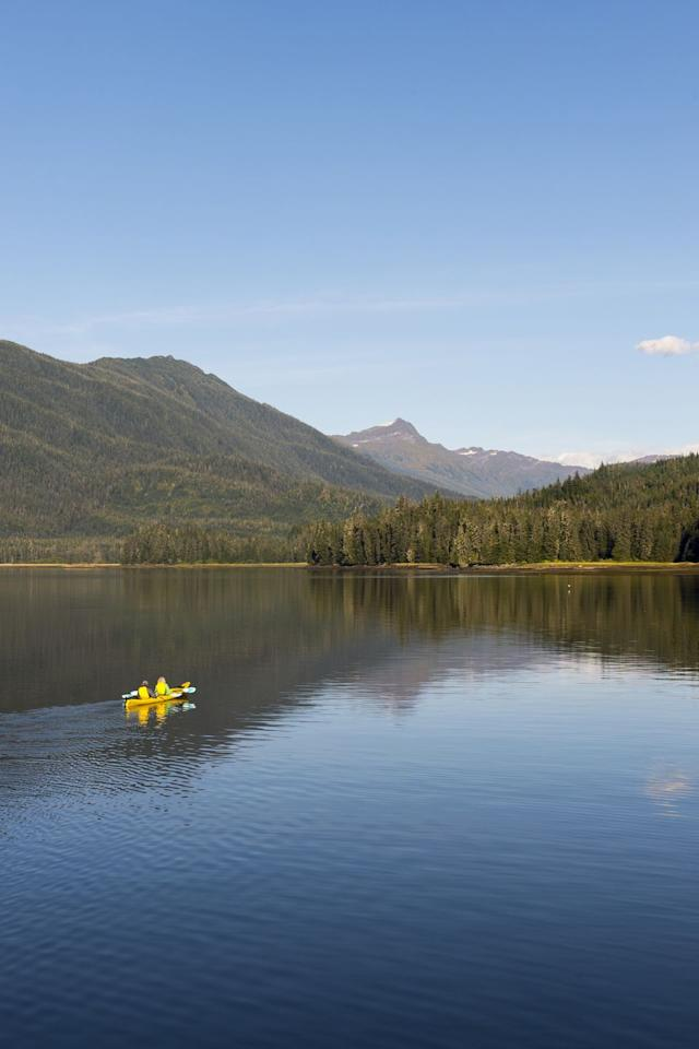 <p><strong>Population:</strong> 1</p><p>You'll have the beautiful Alaska wilderness all to yourself in this small area on the water.</p>