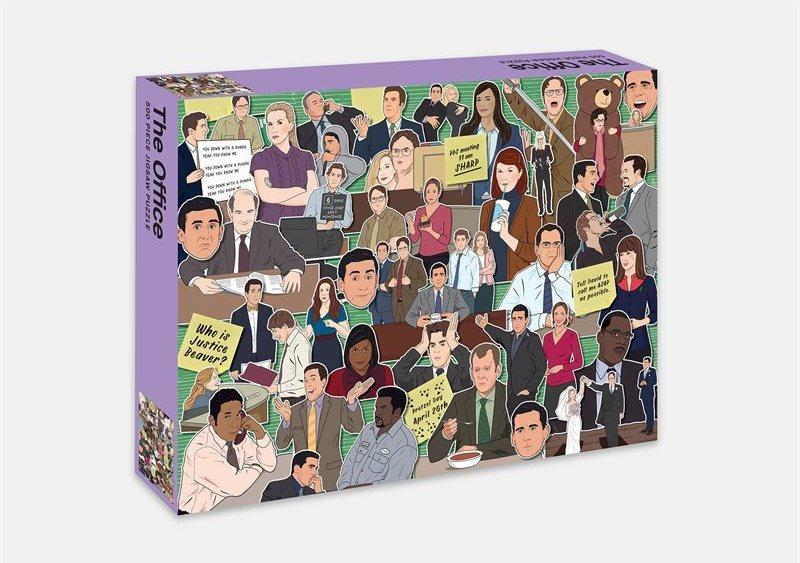 The Office Jigsaw 500 Piece Puzzle. Image via Indigo.