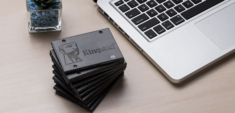 Sustituto de disco duro Kingston de 480 GB. Foto: amazon.com.mx