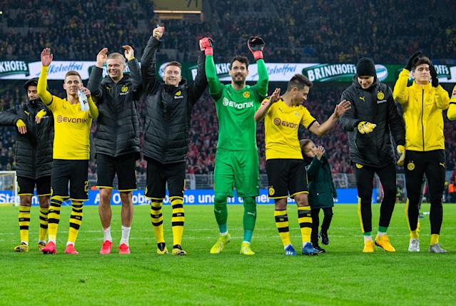 Borussia Dortmund and other German clubs have done a good job in helping the country respond to the coronavirus. (Photo by Guido Kirchner/picture alliance via Getty Images)