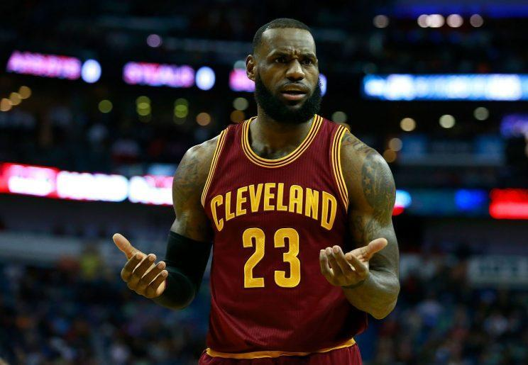 LeBron James has expressed concern that his roster may need a boost. (Getty Images)