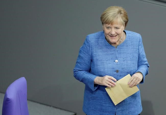 Germany's Merkel: Climate spending is 'money well invested'