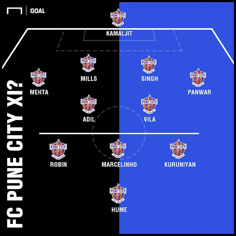 Pune possible XI