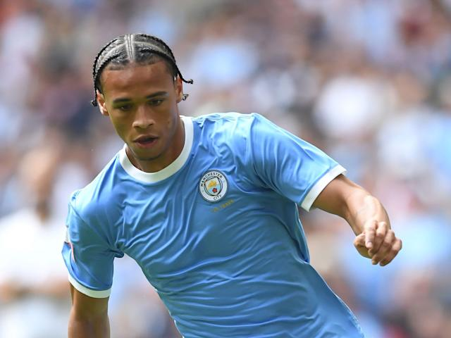 Manchester City winger Leroy Sane: Getty Images