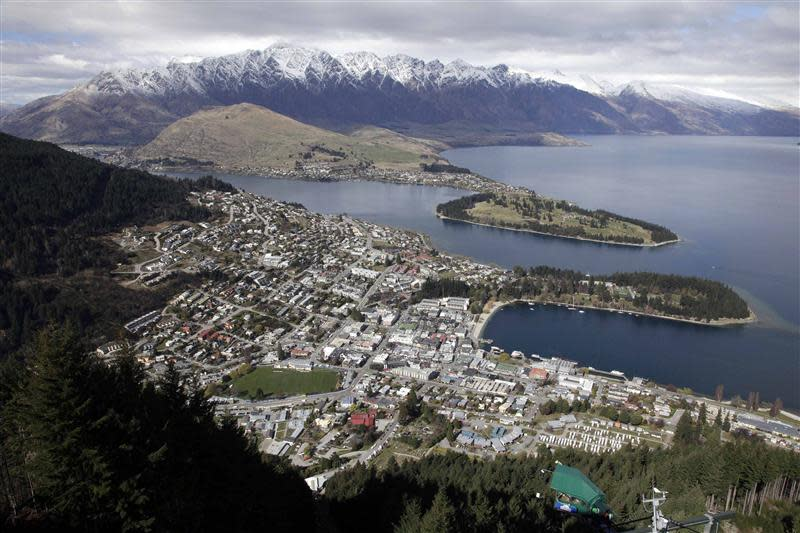 File photo of a general view of Queenstown