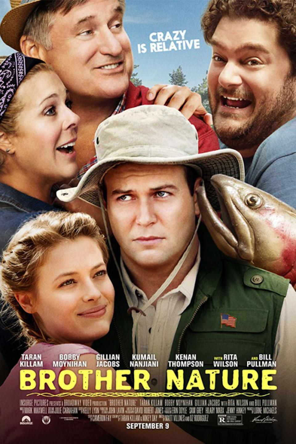 <p>'Brother Nature' never got a UK release, and judging by this awful poster, we had a narrow escape. We <i>think</i> that's Bill Pullman in the top left corner. (Credit: Insurge Pictures) </p>