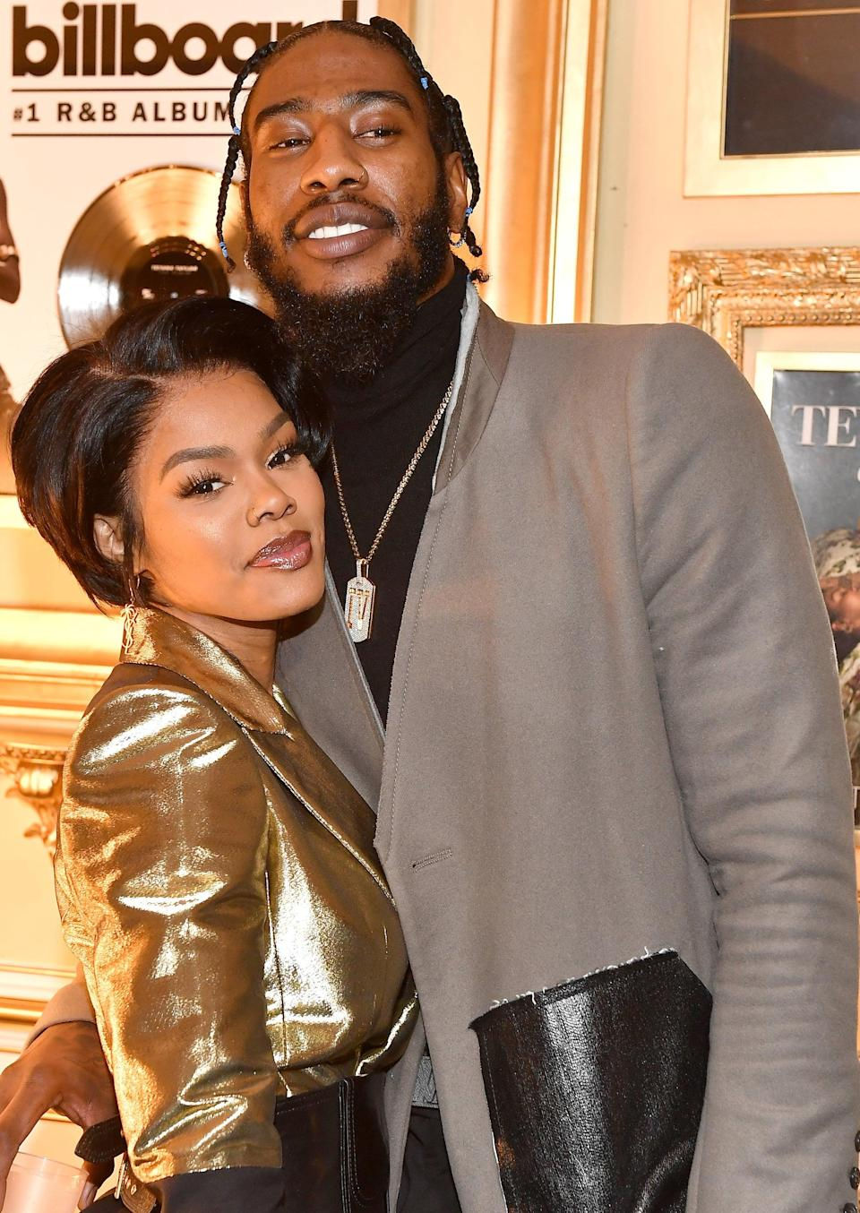 """<ol> <li><strong><a href=""""https://www.youtube.com/watch?v=1sTufvxotHg"""" class=""""link rapid-noclick-resp"""" rel=""""nofollow noopener"""" target=""""_blank"""" data-ylk=""""slk:Teyana played hard to get"""">Teyana played hard to get</a> when she first met Iman</strong>. """"I did not like him at first because when I first met him, he had just got drafted. He was young and doing a lot. I was at a party. He was drunk and had his shirt off. It was just too much going on, baby,"""" Teyana told Wendy Williams in 2018. """"We eventually wound up becoming friends, and I actually shot him for one of my styling companies."""" Teyana and Iman's friendship turned romantic in the end, and they've been going strong ever since. </li> <li><strong>They got married in the bathroom.</strong> After <a href=""""https://people.com/celebrity/iman-shumpert-and-teyana-taylor-are-engaged-see-her-stunning-ring/"""" class=""""link rapid-noclick-resp"""" rel=""""nofollow noopener"""" target=""""_blank"""" data-ylk=""""slk:getting engaged"""">getting engaged</a> in November 2015, the pair secretly tied the knot the following year. """"We got married in the bathroom where our baby was born [Junie], so we just wanted it for good luck before we did the big <a class=""""link rapid-noclick-resp"""" href=""""https://www.popsugar.com/latest/Wedding"""" rel=""""nofollow noopener"""" target=""""_blank"""" data-ylk=""""slk:wedding"""">wedding</a>,"""" Teyana told Wendy. """"It wasn't like inside the bathroom. We had like little cute double doors. It still looked cute.""""</li> </ol>"""