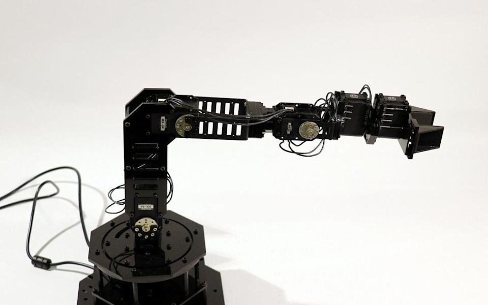 After 35 hours the arm began performing tasks with reasonable accuracy - Columbia University