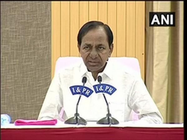 Telangana Chief Minister K Chandrashekhar  Rao (Photo/ANI)