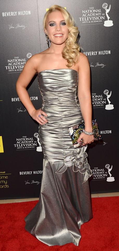 Kristen Alderson arrives at The 39th Annual Daytime Emmy Awards held at The Beverly Hilton Hotel on June 23, 2012 in Beverly Hills, California.