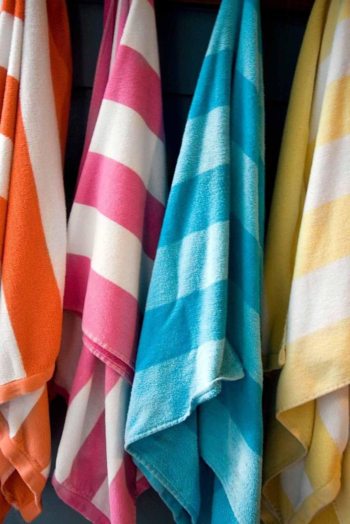 """<p>With summer so close you can taste it, finish off that last-minute <a href=""""https://www.womansday.com/home/organizing-cleaning/tips/a4055/a-quicker-way-to-clean-house-83178/"""" rel=""""nofollow noopener"""" target=""""_blank"""" data-ylk=""""slk:spring cleaning"""" class=""""link rapid-noclick-resp"""">spring cleaning</a> and get ready for fun. Pull your beach chairs out of storage and put your summer clothes front and center in your closet.</p>"""