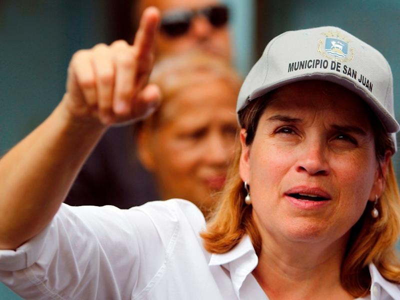 San Juan Mayor Carmen Yulin Cruz has been critical of President Donald Trump's response to disasters in Puerto Rico.