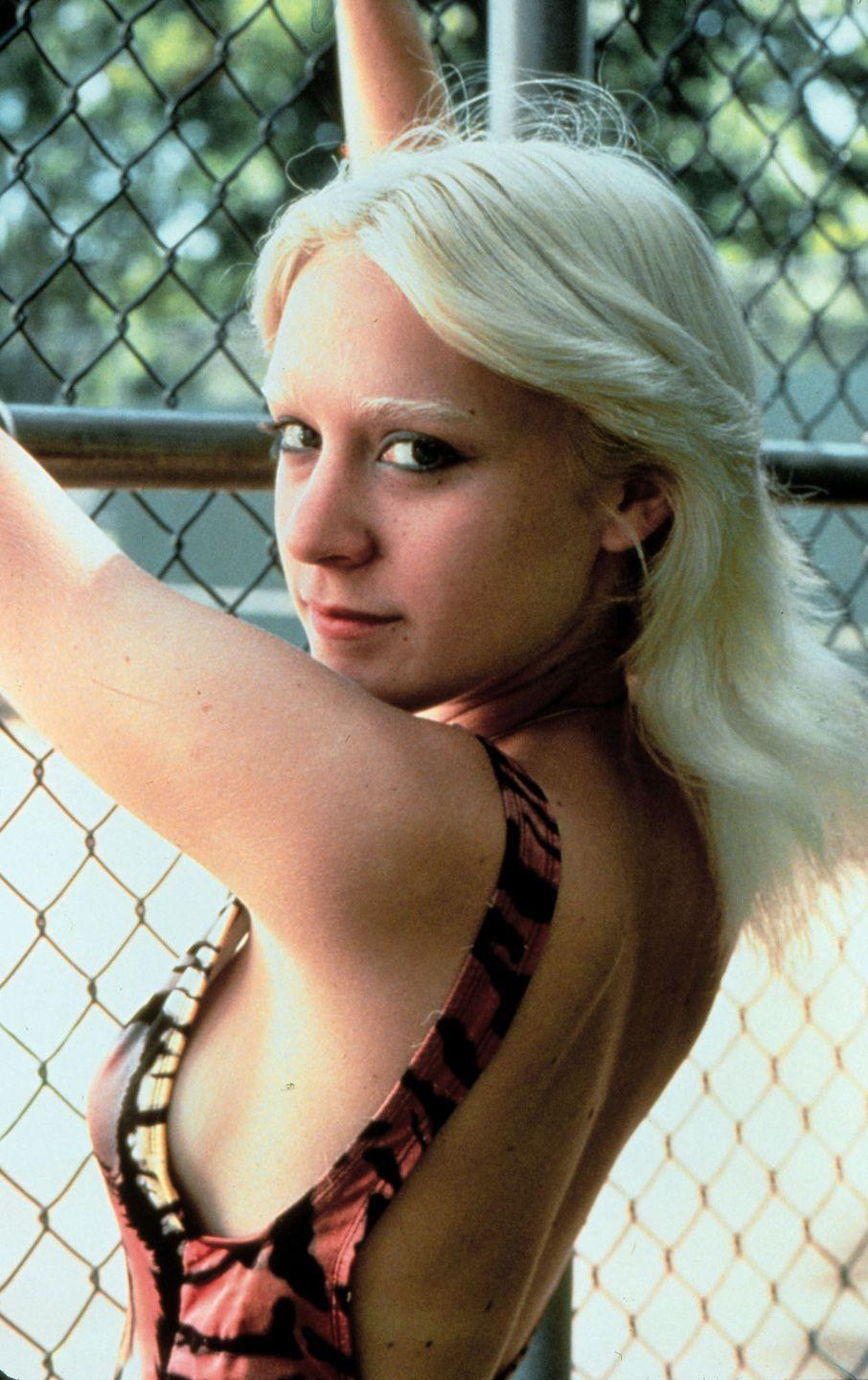 <p>Chloe Sevigny is the walking definition of cool, so we probably should have known that she would pull off a cool-toned bleached brow with ease. Come for the bleached brow, stay for the Abba-esque 70s bangs. </p>
