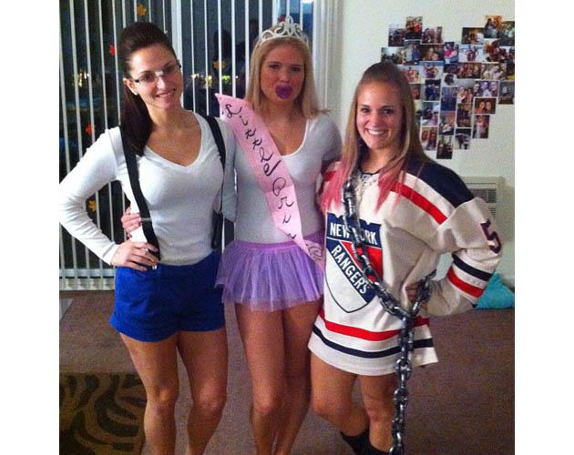 halloween costumes inspired by the nhl lockout youll laugh youll cry photos - Puck Bunny Halloween Costume