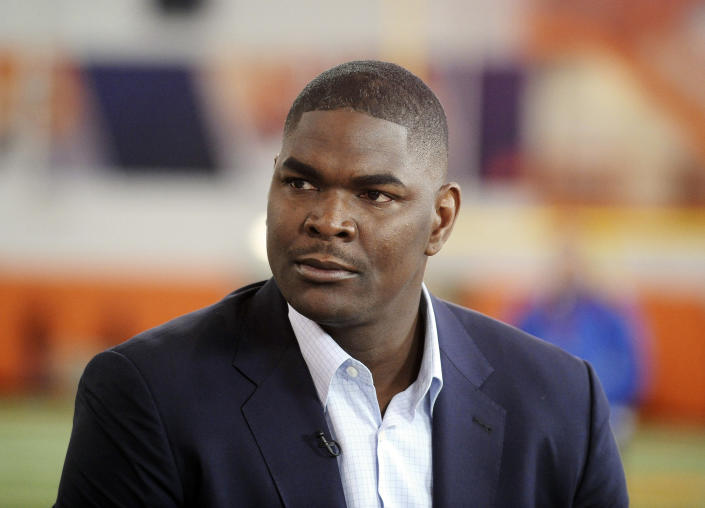 Keyshawn Johnson announced the death of his first-born daughter on Monday.