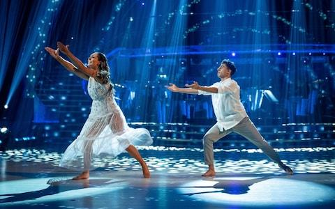 Karim and Amy's showdance