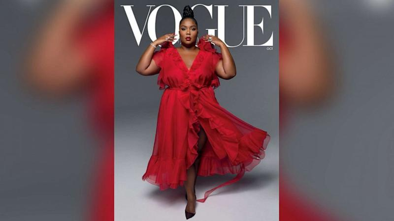 Lizzo opens up about being 'first big Black woman' on Vogue magazine cover