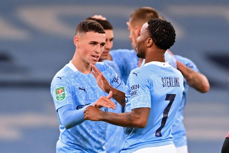Phil Foden has started the season in good form (POOL/AFP via Getty Images)