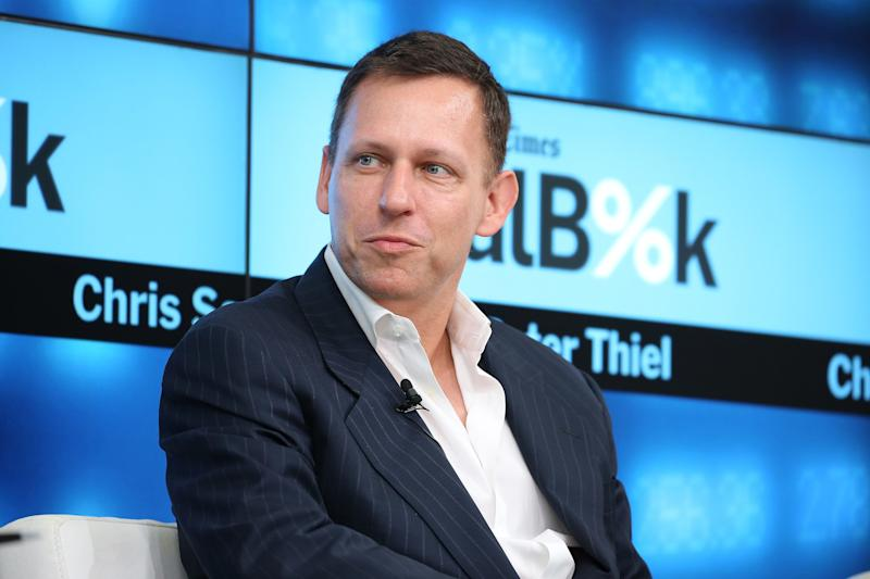 Billionaire tech investor Peter Thiel bets on crypto start-up Block.one
