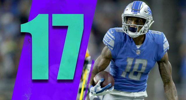 <p>It hasn't gotten enough attention as Le'Veon Bell, but defensive end Ezekiel Ansah is on a one-year franchise deal and has played just one game this season due to a shoulder injury. (Kenny Golladay) </p>