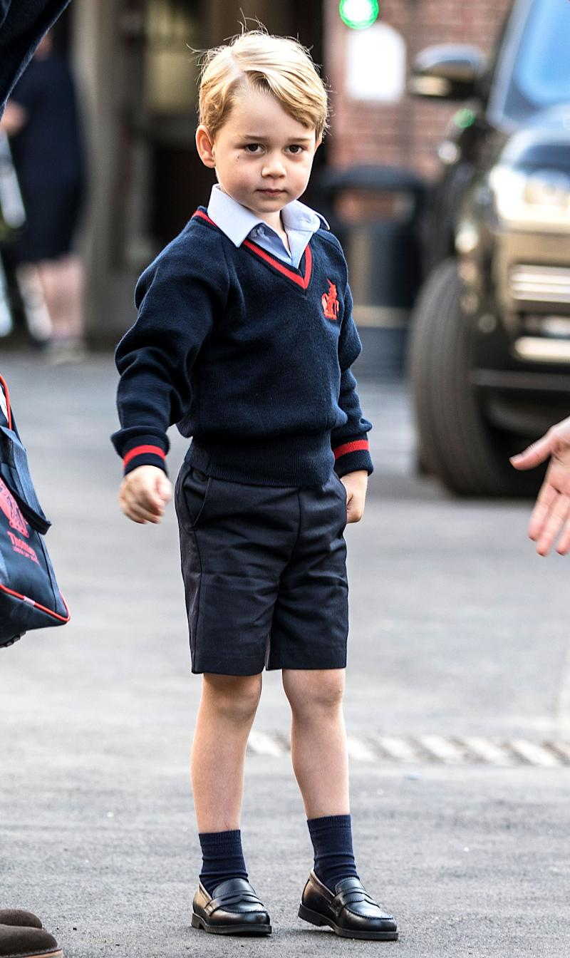 2861530596 Prince George Wearing His School Uniform Is The Cutest Thing You'll See All  Day