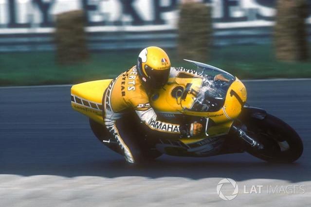 """Kenny Roberts: 500er-Weltmeister mit Yamaha (1978, 1979, 1980) <span class=""""copyright"""">Gold and Goose / Motorsport Images</span>"""